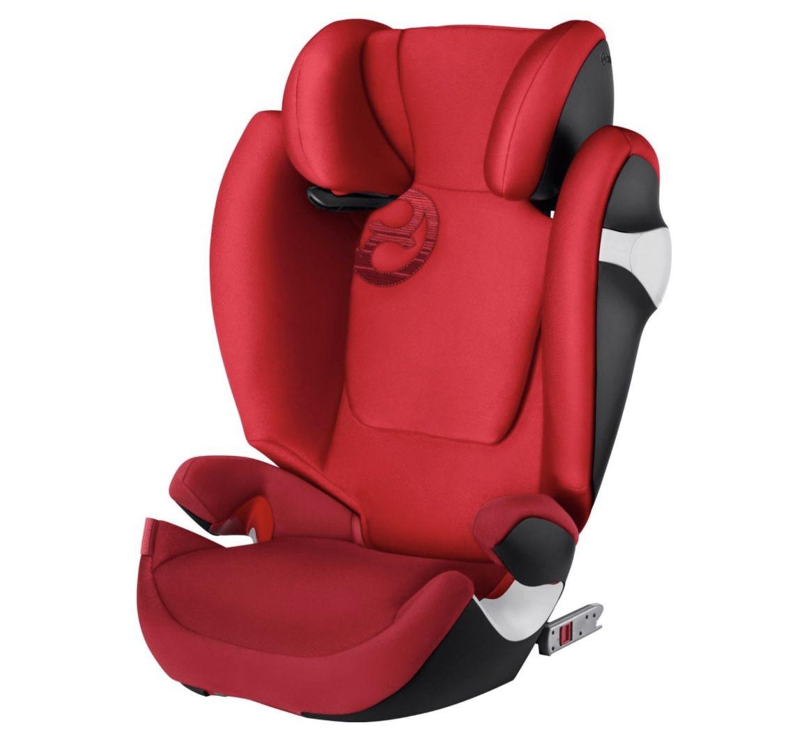 cybex GOLD Kindersitz Solution M fix Rebel Red für 109,19€ (statt 135€)