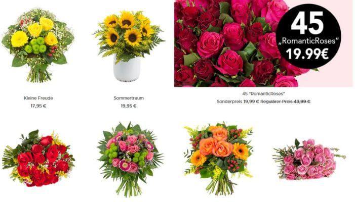 Blume Ideal mit 12% Rabatt auf alles   auch auf reduzierte Sträuße