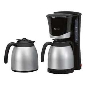Kaffeemaschine Clatronic KA 3328 mit 2 Thermoskannen für 29€ (36€)