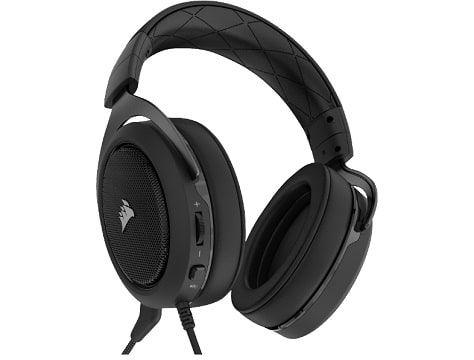 CORSAIR HS60 7.1 Gaming Headset Carbon für 55€ (statt 73€)