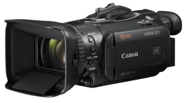 Canon LEGRIA GX10   4 K 1Zoll Video Kamera für 1.899€ (staatt 2.005€) dank Cashback