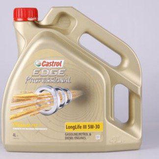 🔥 Castrol EDGE FST 5W 30 Motoröl 4 Liter für 9,32€ (statt 47€)