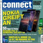 Connect – Technik Magazin Jahreabo für 75,60€ + 50€ ShoppingBon Gutschein