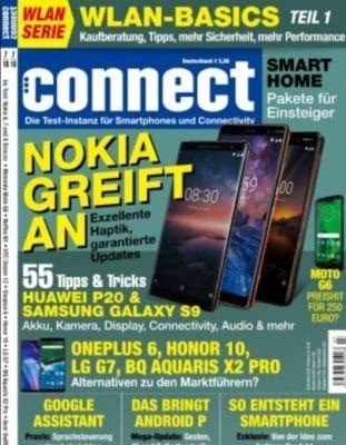 Connect   Technik Magazin Jahreabo für 75,60€ + 50€ ShoppingBon Gutschein