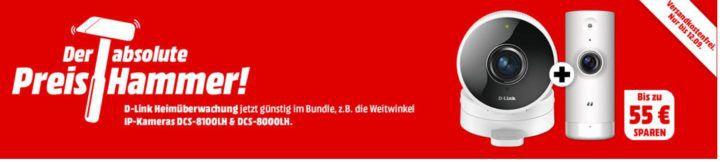 MM Preishammer: günstige D Link Heimüberwachungs Bundles