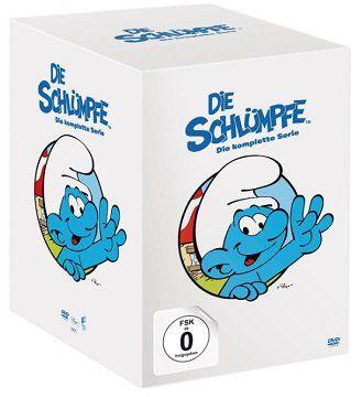 DIE SCHLÜMPFE Die komplette Serie auf 42 DVDs für 39€ (statt 47€)