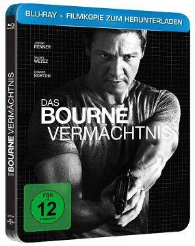 Das Bourne Vermächtnis als Steelbook Edition (Blu ray) für 7€ (statt 9€)