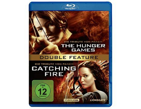 Die Tribute von Panem   The Hunger Games & Catching Fire als Double Feature (Blu ray) für 7€ (statt 13€)
