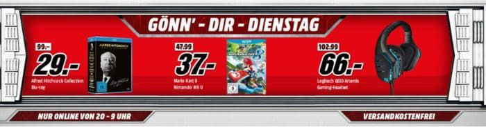 ASUS Cerberus Gaming Maus für 15€ (statt 28€) uvm. im Media Markt Dienstag Sale