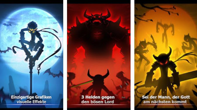 League of Stickman: (Dreamsky) Warriors (Android) gratis statt 0,59€