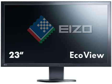 EIZO EV2316WFS3 BK 23 Full HD Monitor (5 ms Reaktionszeit, 60 Hz) für 199€ (statt 232€)