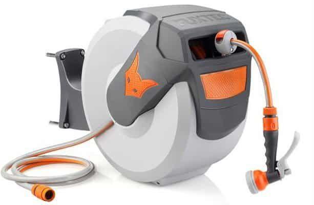 Fuxtec FX WSA30 Wasserschlauchaufroller inkl. 30 m Gewebeschlauch für 80,10€ (statt 99€)