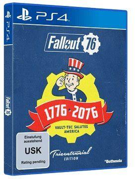 Fallout 76 Tricentennial Edition für PlayStation 4 und Xbox One   Vorbestellung für 69,99€ (statt 85€)