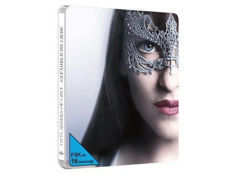 Fifty Shades of Grey 2   Gefährliche Liebe exklusive Steelbook Blu ray für 19€ (statt 28€)
