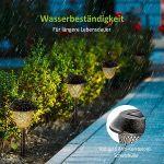 VicTsing 6 Stück Solarlampen für den Garten für 25,99€ (statt 36€)