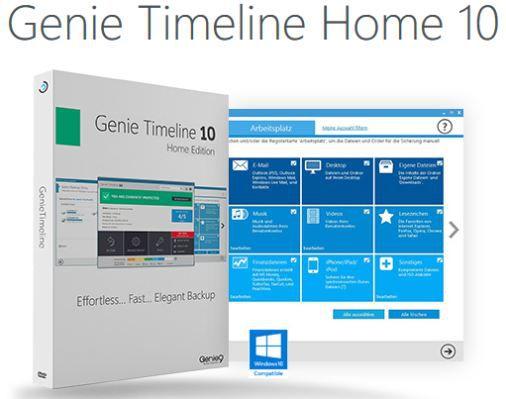 Genie Timeline Home 10 (Lifetime Lizenz, Windows) kostenlos