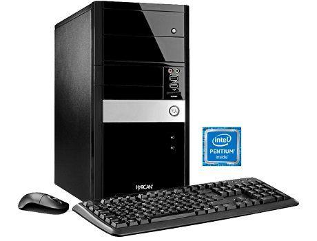 HYRICAN GIGABYTE EDITION 4965 Desktop PC mit Pentium Prozessor, 4GB RAM, 1TB HDD für 299€ (statt 429€)