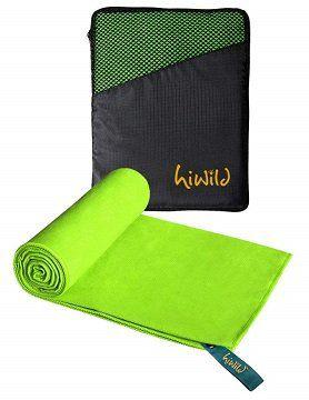 HiWild Mikrofaser Handtücher für Reise, Sport oder Schwimmen für 6€ (statt 20€)