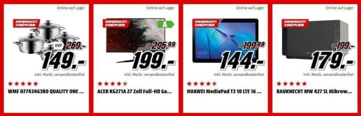 Media Markt Sommernacht Sale bis 9 Uhr: z.B. GRUNDIG MUSIC 45 DAB+ Radio für 29€ (statt 37€)