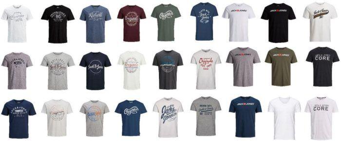 Jack & Jones Herren T Shirts in vielen Motiven bis 2XL für je 10,99€ (statt 13€)