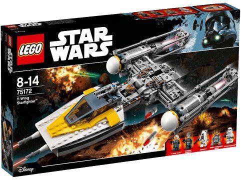 LEGO Y Wing Starfighter Bausatz (75172) für 35€ (statt 51€)