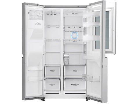 LG GSI 961 NEAZ InstaView Sidy by Side Kühlschrank mit EEK A++ für 1.899€ (statt 2.599€)