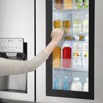LG GSI 961 NEAZ InstaView Sidy-by-Side Kühlschrank mit EEK A++ für 1.899€ (statt 2.599€)