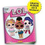 L.O.L. Surprise Panini Sammelalbum inkl. 6 Sticker gratis