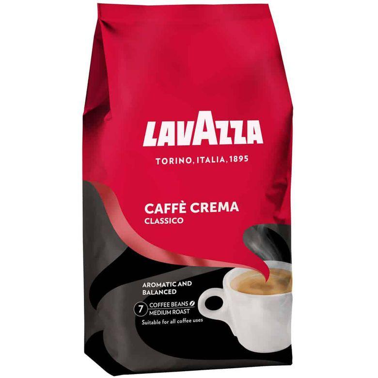 Lavazza Caffè Crema Classico ganze Bohnen 1kg ab 9,99€