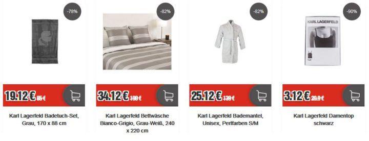 Karl Lagerfeld Sale bei TOP12: z.B. Karl Lagerfeld Bademantel Unisex für 24,12€
