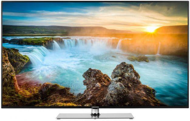 MEDION X18210   49 Zoll UHD smart TV mit triple Tuner und PVR für 369,99€ (statt 506€)