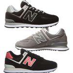 New Balance ML574 – Herren Sneaker Schwarz oder Braun für je 62,99€ (statt 78€)