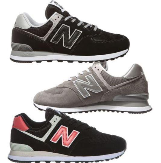New Balance ML574   Herren Sneaker Schwarz oder Braun für je 62,99€ (statt 78€)
