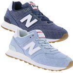 New Balance ML574 – Herren Sneaker Hellblau & Blau für je 57,99€ (statt 78€)