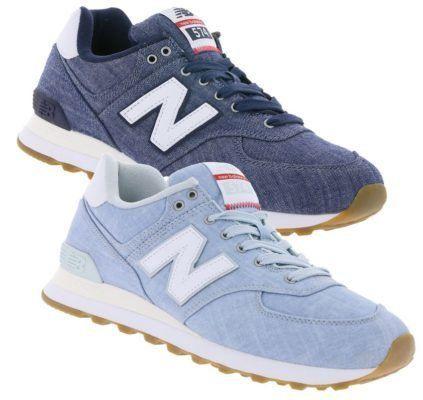 New Balance ML574   Herren Sneaker Hellblau & Blau für je 57,99€ (statt 78€)