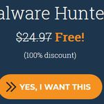 Malware Hunter Pro (Jahreslizenz für 3 Geräte, Windows) gratis