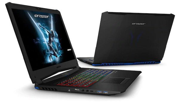 MEDION ERAZER X7855 17,3 Gaming Notebook mit i7, GTX 1060, 16GB RAM, 256GB SSD für 1.199€ (statt 1.399€)