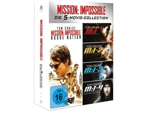 Mission Impossible 1 5 Box (Blu ray) für 14,99€ (statt 21€)