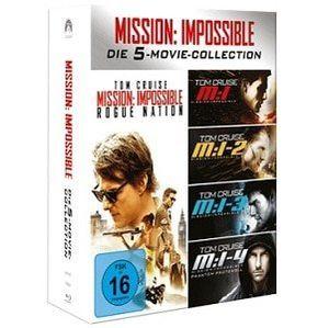 Mission Impossible 1 5 Box (Blu ray) für 16€ (statt 20€)