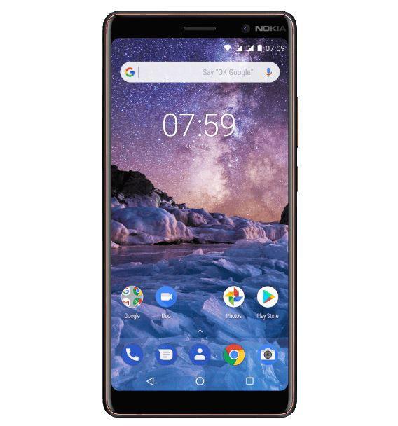 Nokia 7 Plus   6 Zoll 64 GB Android 8 Smartphone für 206€ (statt 245€)