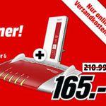 AVM FRITZ!Box 6490 Kabelmodem mit WLAN AC + WLAN Repeater 1160 für 165€ (statt 208€)