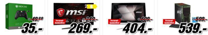 Xbox Wireless Controller   Gears of War 4 Crimson Omen für 39€ (statt 55€) uvm. im Media Markt Dienstag Sale