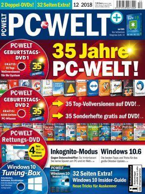 3 Ausgaben PC WELT plus für 22,95€   Prämie: 22,95€ Verrechnungsscheck