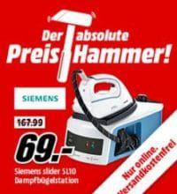 Siemens TS 16200 slider SL10 Dampfbügelstation für 69€ (statt 104€!)