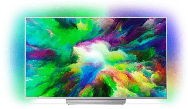 Philips 55PUS7803   55 Zoll 4K Fernseher mit Ambilight 3 seitig für 888,90€ (statt 899€) + 100€ Saturn Gutschein