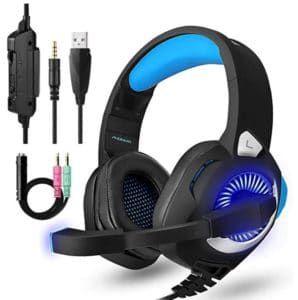 PHOINKAS Gaming Head Set für PC, PS4, Xbox One und viele mehr für nur 16,79€ (statt 32€)
