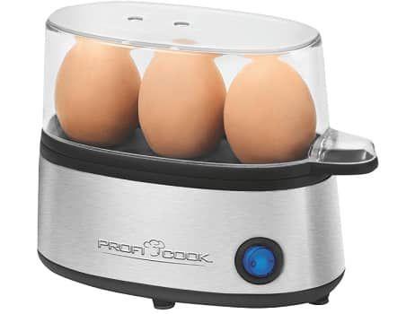 PROFI COOK PC EK 1124 Eierkocher für 3 Eier für 11€ (statt 14€)