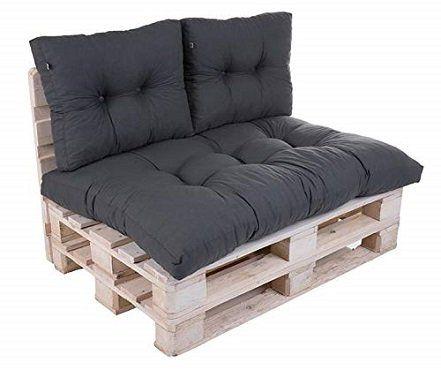 Wolkenkind Palettenpolster Eco Set mit 2 Rückenkissen und Sitzkissen für 44,44€ (statt 59€)