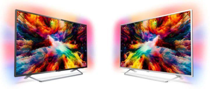 Philips 55PUS7373/12  55 Zoll UHD TV mit 3 seitigem Ambilight für 555€ (statt 760€)