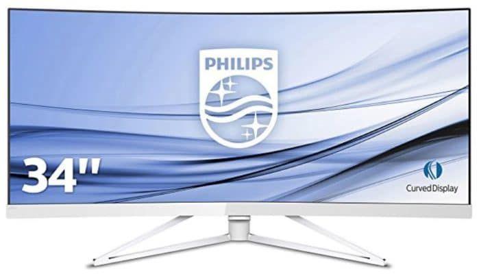Vorbei! PHILIPS 349X7FJEW/00   34 Zoll WQHD Monitor  für 499€ (statt 649€)